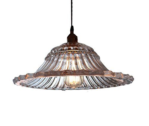 Unitary™ Vintage Barn Glass Shade Pendant Light Max 60W With 1 Light Painted Finish Unitary http://www.amazon.co.uk/dp/B00KVC67PE/ref=cm_sw_r_pi_dp_jqavub06S1207