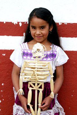 ¡Los mexicanos somos amigos de los esqueletos!