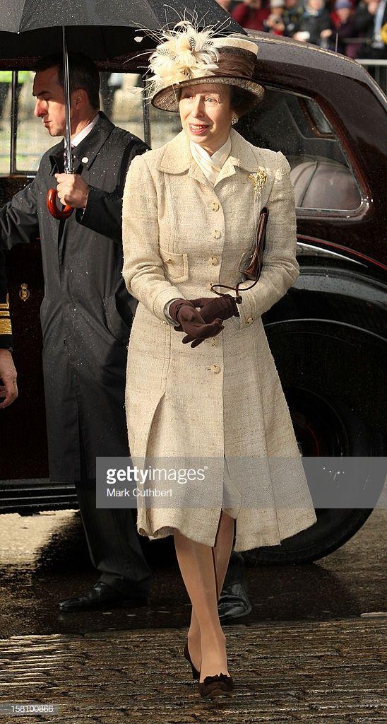 News Photo Princess Anne Attends A Service Celebrating