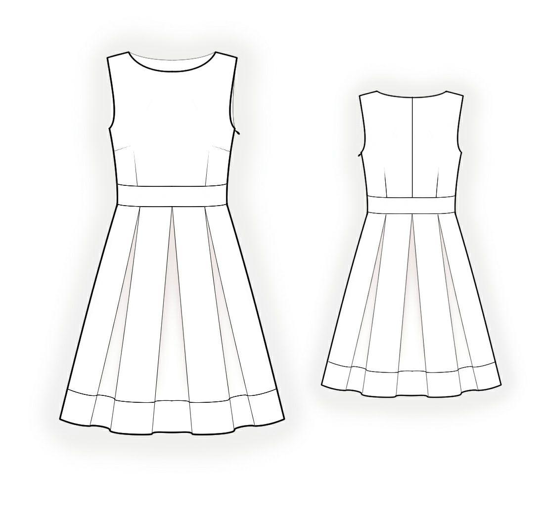 Schnittmuster kleider kostenlos online