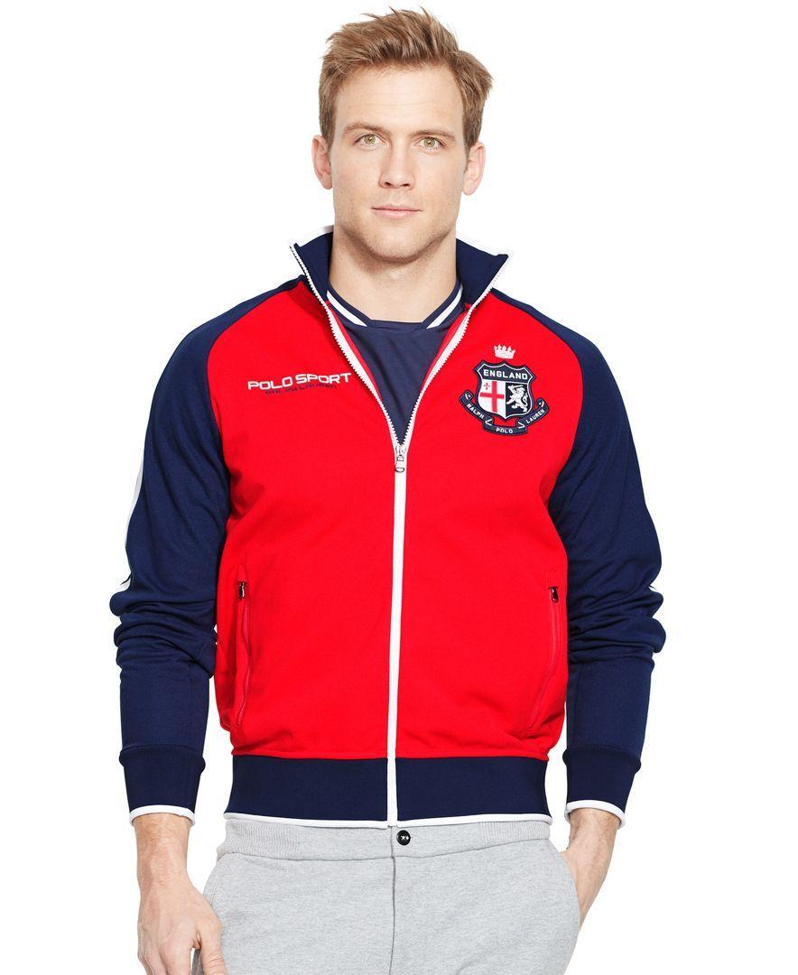 Polo Ralph Lauren England Pique Track Jacket in 2019