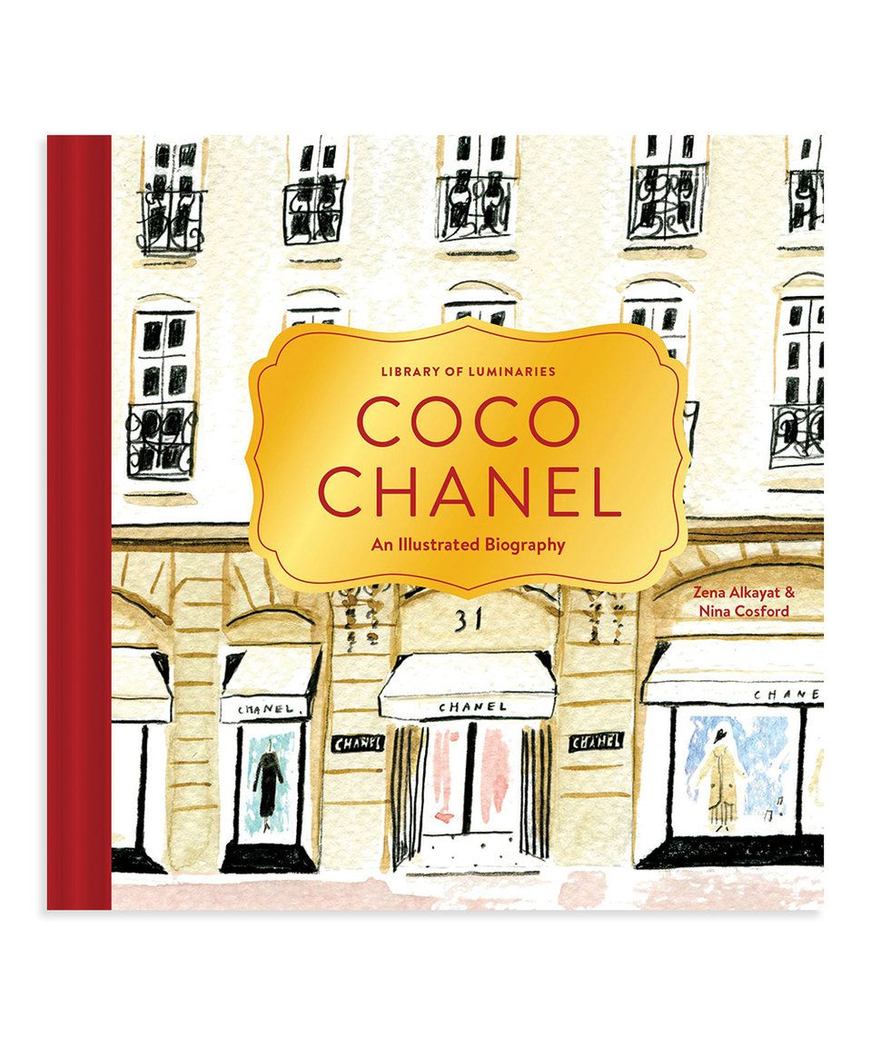 Take a look at this Library of Luminaries: Coco Chanel Hardcover ...