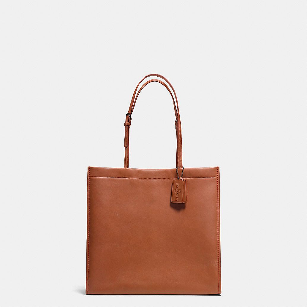 1823e5a545d Skinny Tote in Glovetanned Leather | My Style Pinboard | Pinterest ...
