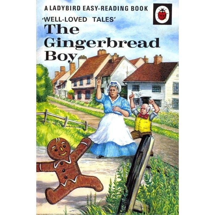 Ladybird Book The Gingerbread Boy Run Run As Fast Has You Can