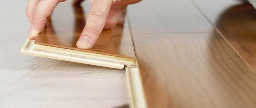 The Click Lock Joint On Laminate Flooring Makes It Easy To Install