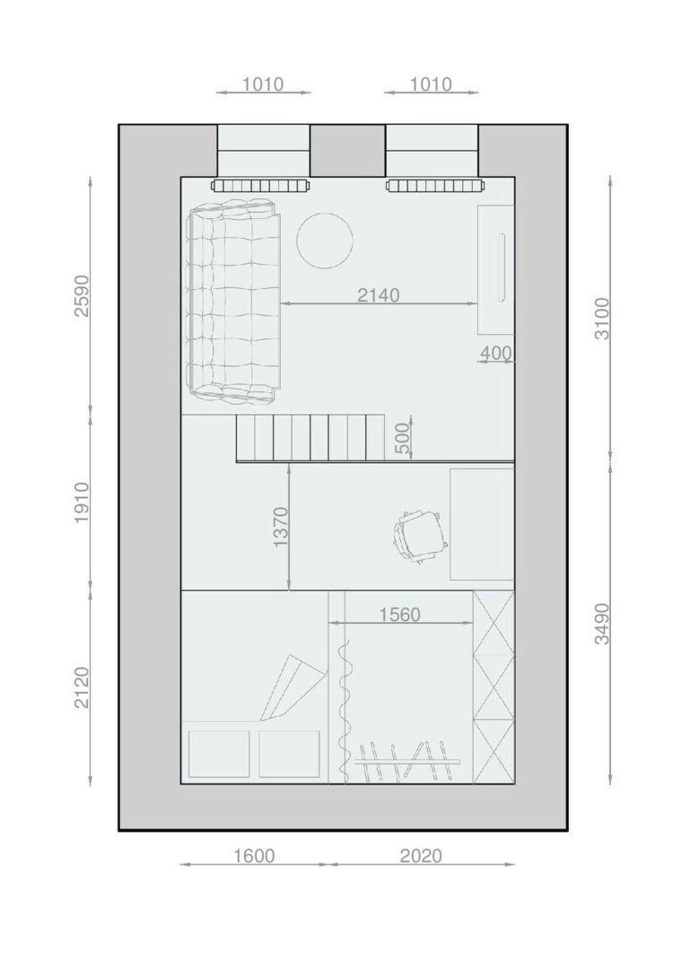 amenager studio 20m2 plan | idées décoration - idées décoration