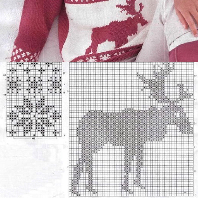 jacquard nordic pattern | Knitting patterns, Pattern ...