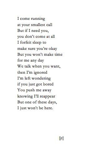 poems about being apart from the one you love