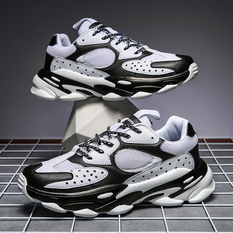 popular comfortable male sneakers outdoors sport fitness