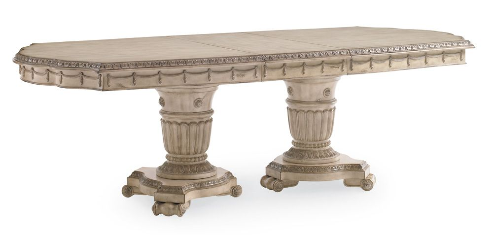 Schnadig Empire Ii Double Pedestal Dining Table Double Pedestal