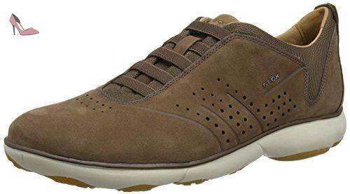 Geox U CLAUDIO J, Chaussures de ville homme - Gris - Grau (MUD C6372), 46  EU - Chaussures geox (*Partner-Link) | Chaussures Geox | Pinterest