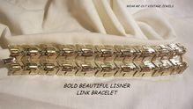 Stunning Lisner Wide panel Link Bracelet
