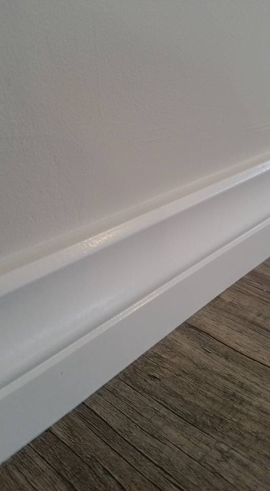 spray painted skirting boards perth wa lambs tongue. Black Bedroom Furniture Sets. Home Design Ideas