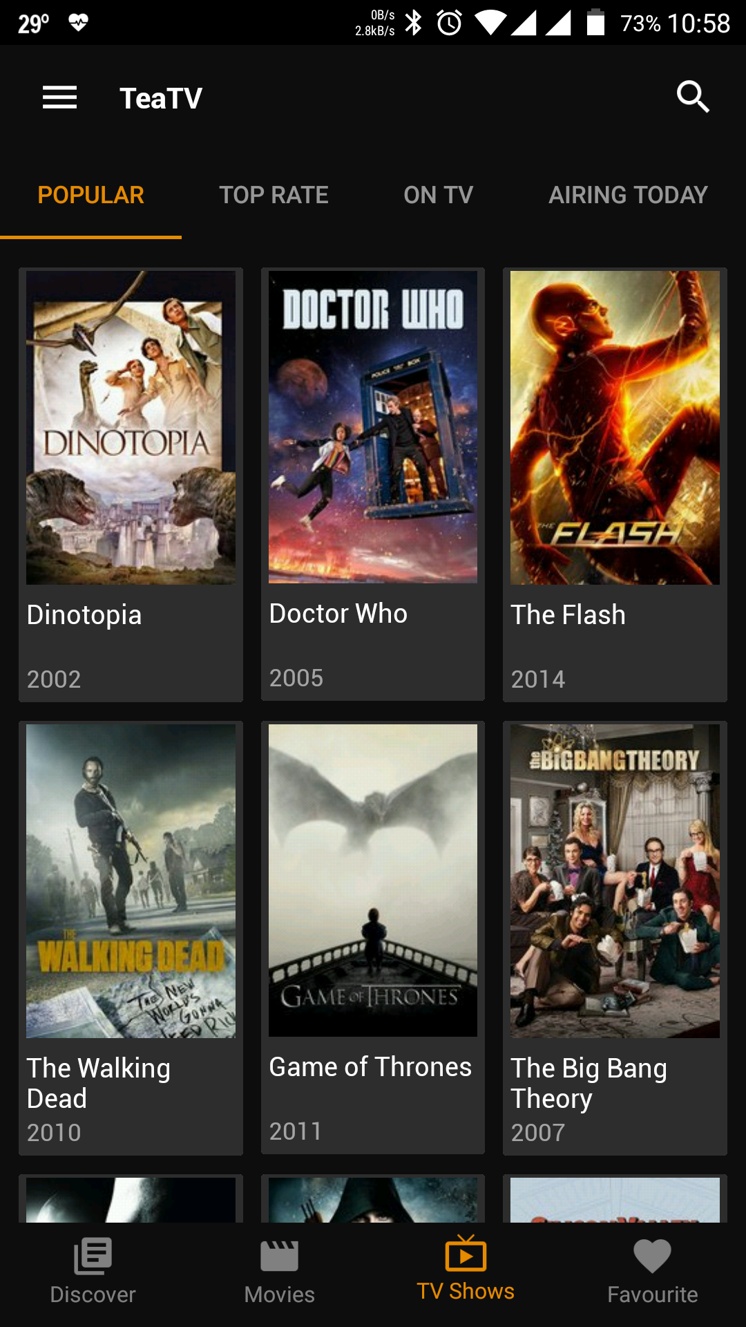 apps for movies and tv series