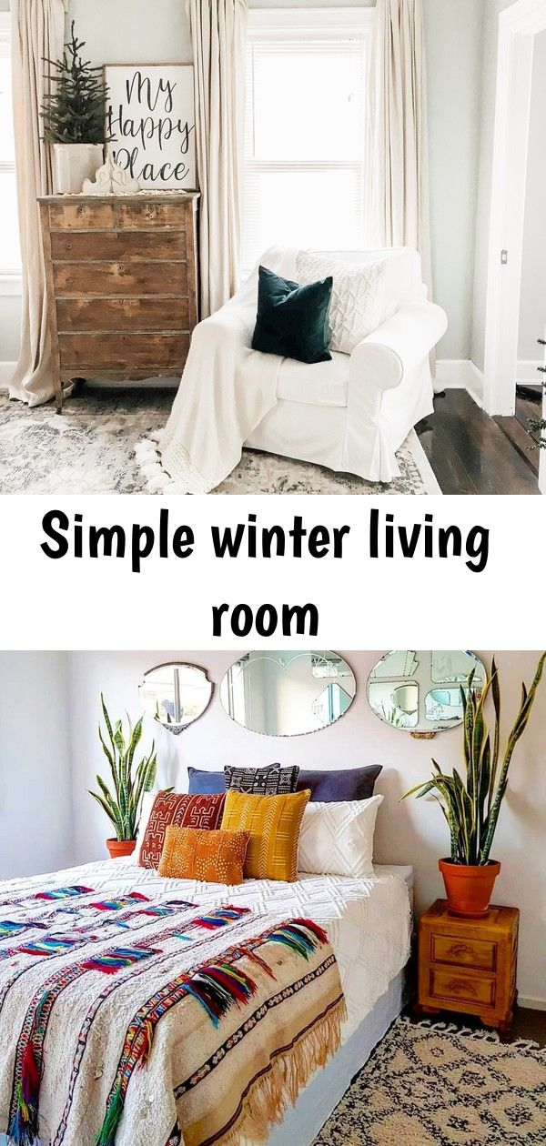 Simple winter living room Simple Winter Living Room | How to Decorate After Christmas When winter rolls around, a bit of vibrance can do a whole lot of good—especially in a room where you start and end your day. That's why we've rounded up some of our favorite colorful bedrooms we've spotted on Instagram Welcome to Hi!Balloons! What a soft color
