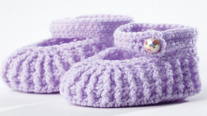 Crochet Mary Jane Baby Booties Tutorial In 2018 Crochet Patterns