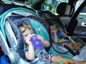 Out the Door With Twins - Twiniversity - Resource for Parents of TWINS! Getting Out the Door With Twins   Awesome tips!  Read more at Getting Out the Door With Twins   Awesome tips!  Read more at