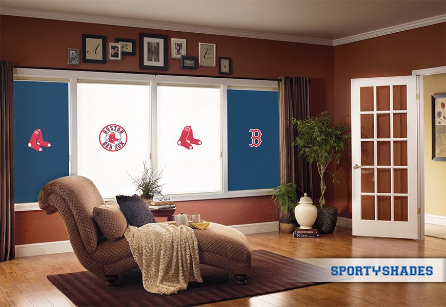 Boston red sox victory room 2013 what sportyshades for Boston red sox bedroom ideas