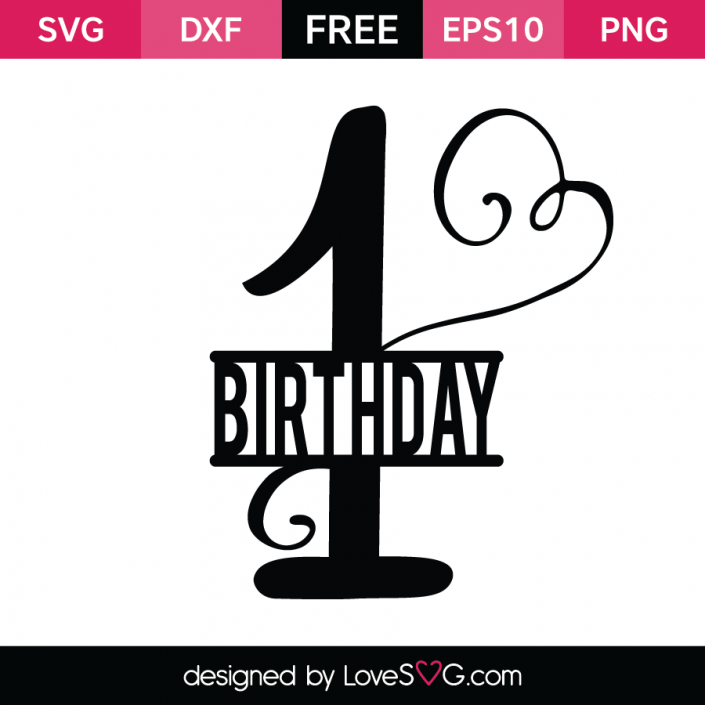 Download FREE SVG CUT FILE for Cricut, Silhouette and more *** 1st ...
