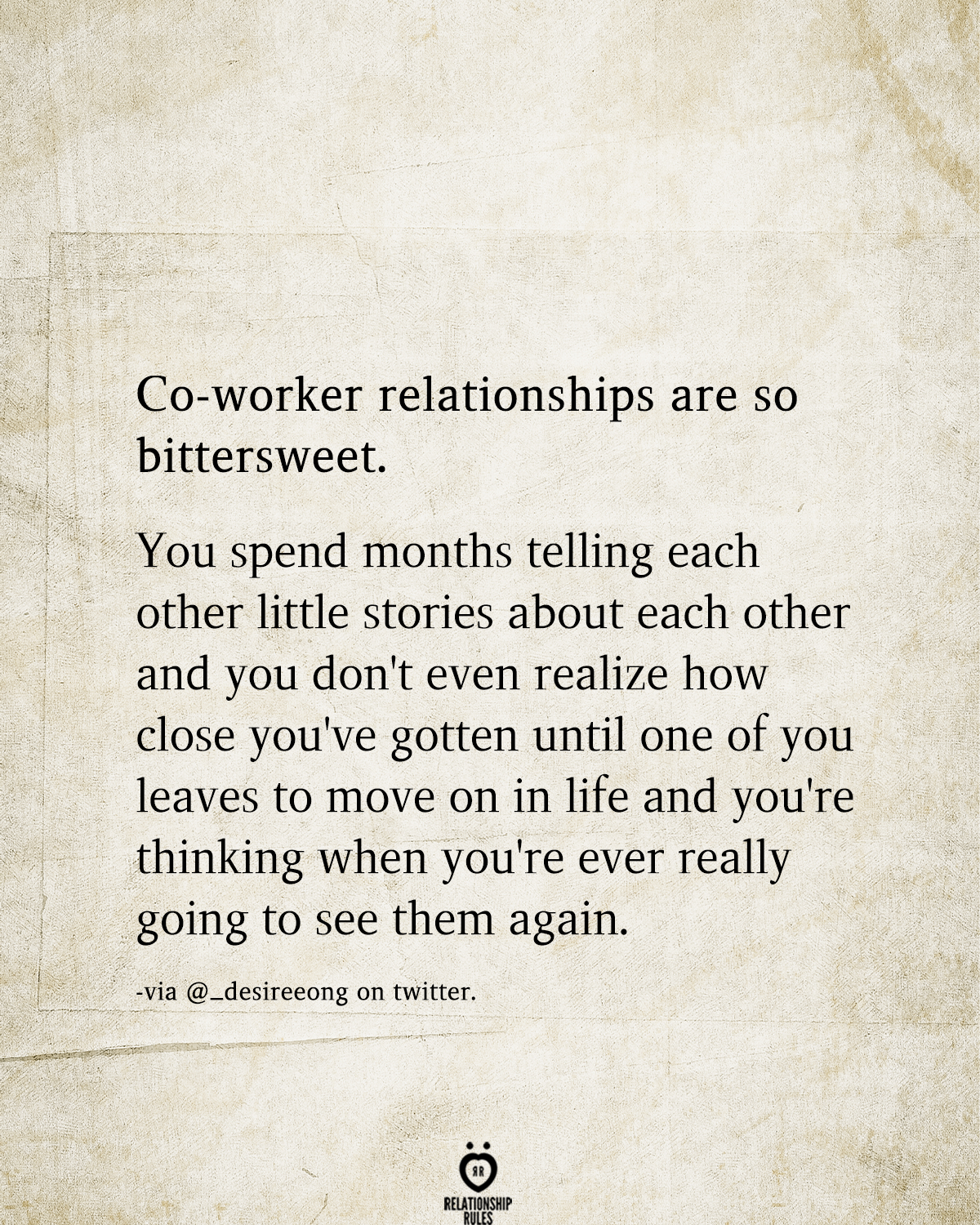 5 Relationship Rules to Rekindle Your Passion  Coworker quotes