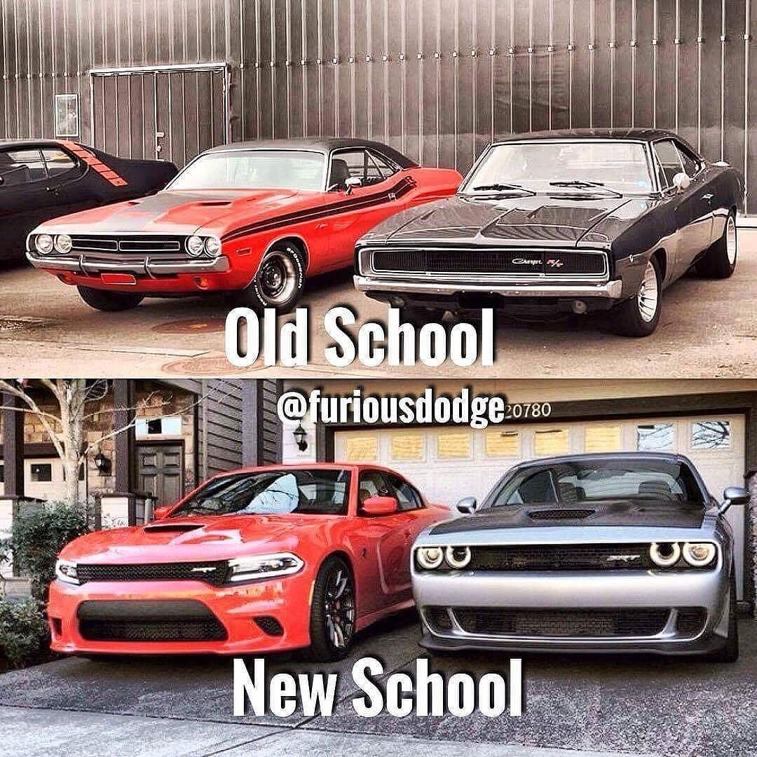 old school or new school