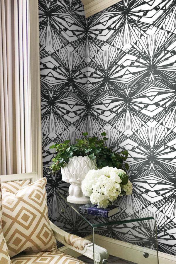 Harlequin Diamond Large Wallpaper Contemporary wallpaper