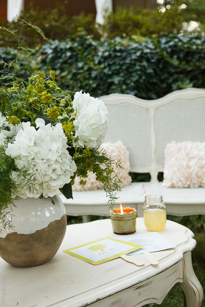 White Vintage Furniture For Outdoor Lounge At Lakeside Wedding Rentals By Southern Events Party Rental Company Photo Gregory Byerline