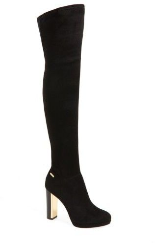 Calvin Klein Collection Leather Platform Knee-High Boots wide range of cheap price where to buy browse sale online buy cheap brand new unisex x1JAr