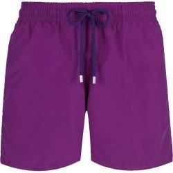 Photo of Costumi da bagno per uomo – Costumi da bagno tinta unita per uomo – Shorts da bagno – Moorea – Viola – Xxxl – Vilebrequin V