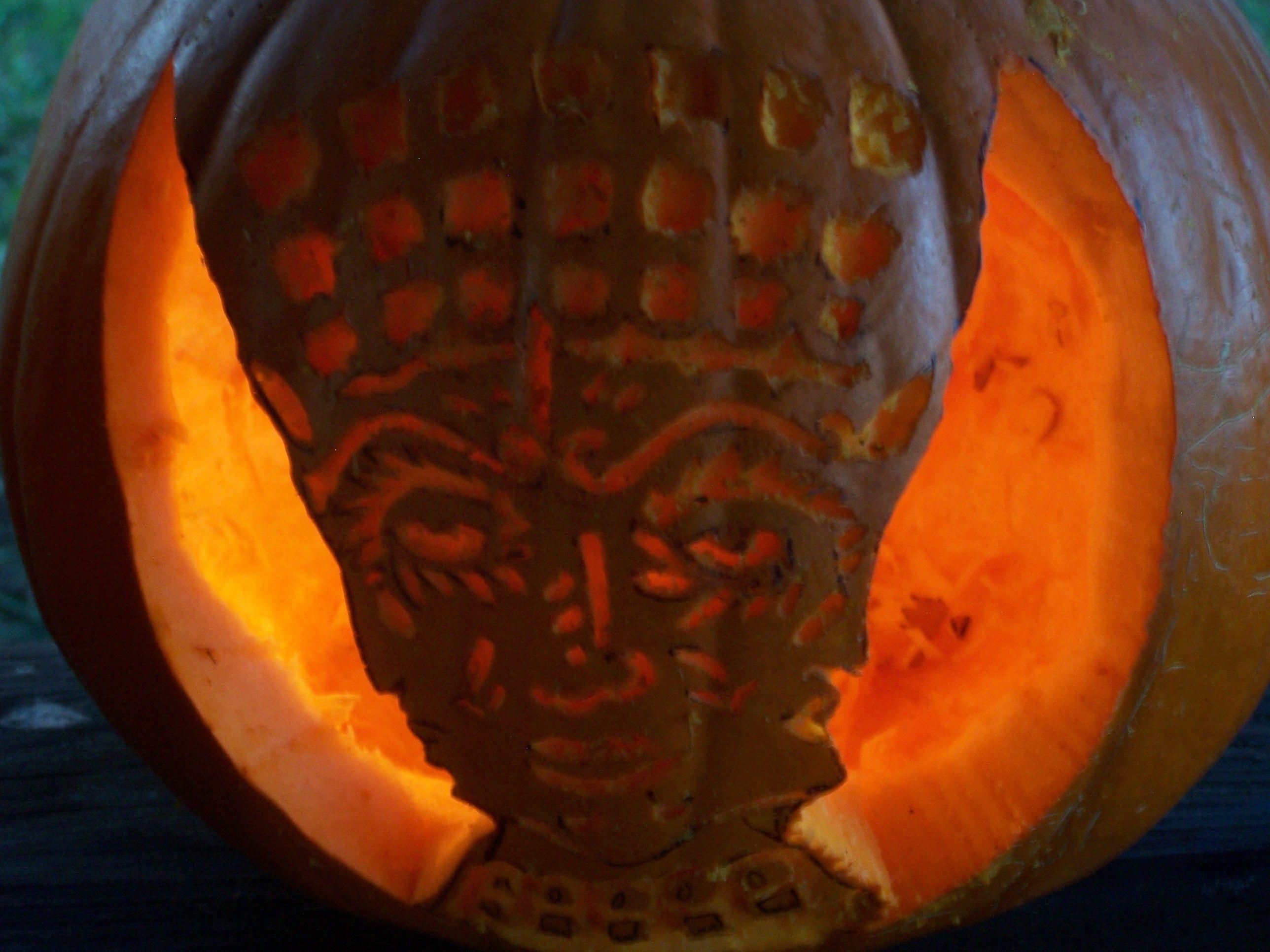Alex and the Halloween Pumpkin