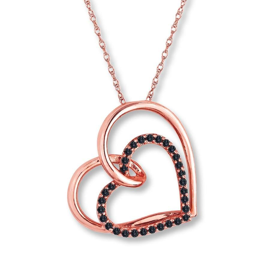 diamonds cut necklace white kay of infinity round tw gold with inspirational jewelers ct heart diamond
