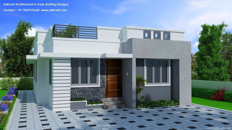 Budget Home Design Constructed Under Pradhan Mantri Awas Yojana Urban Pmay Kerala Thiruvananthapura Architecture Plan Modern Architecture Building Design