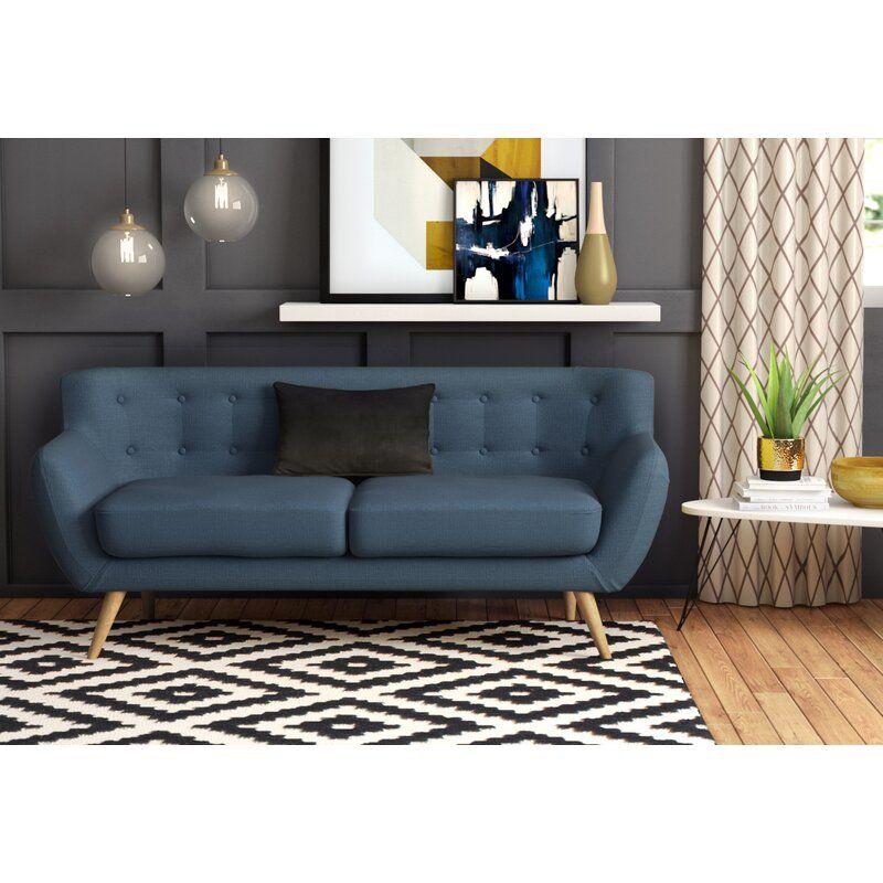 Meggie Sofa Living Room Sets 3 Piece Living Room Set Retro Sofa