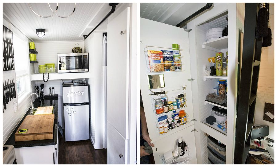 12 great small kitchen designs | Kitchen design, Tiny houses and ...