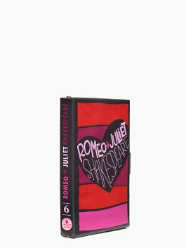Romeo & juliet book clutch- Kate Spade