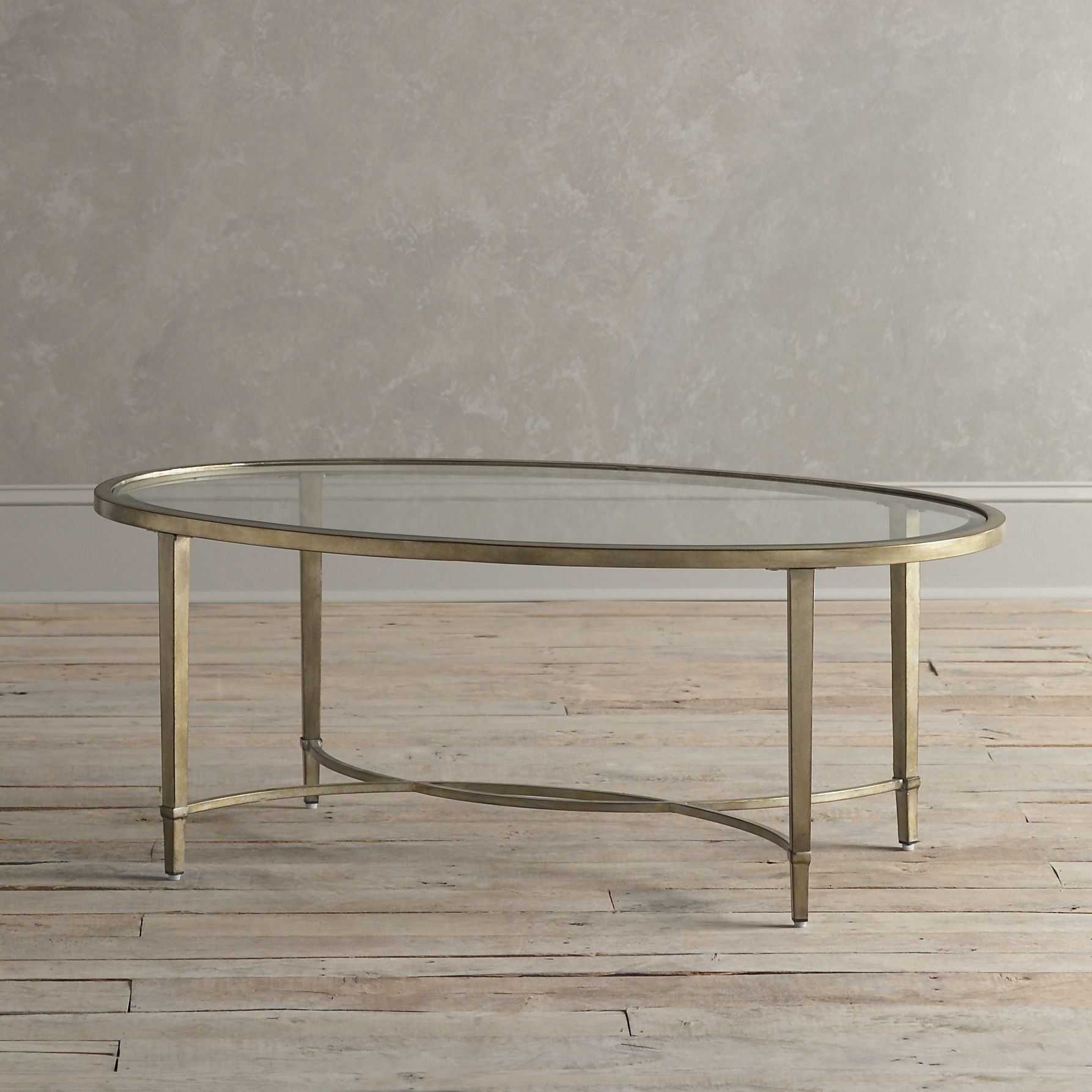 Oval Coffee Table With Metal Legs: Birch Lane Horton Coffee Table