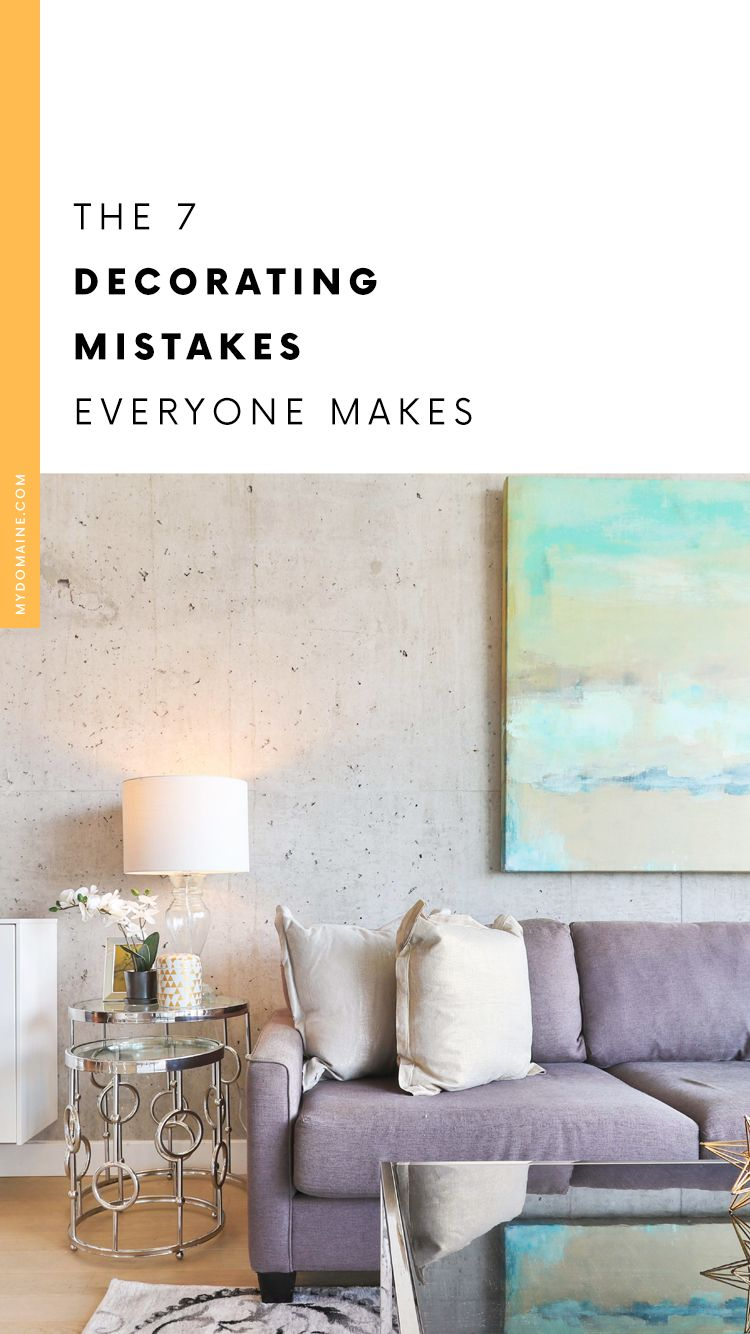 20 Decorating Mistakes Everyone Makes In Their Living Room In 2020