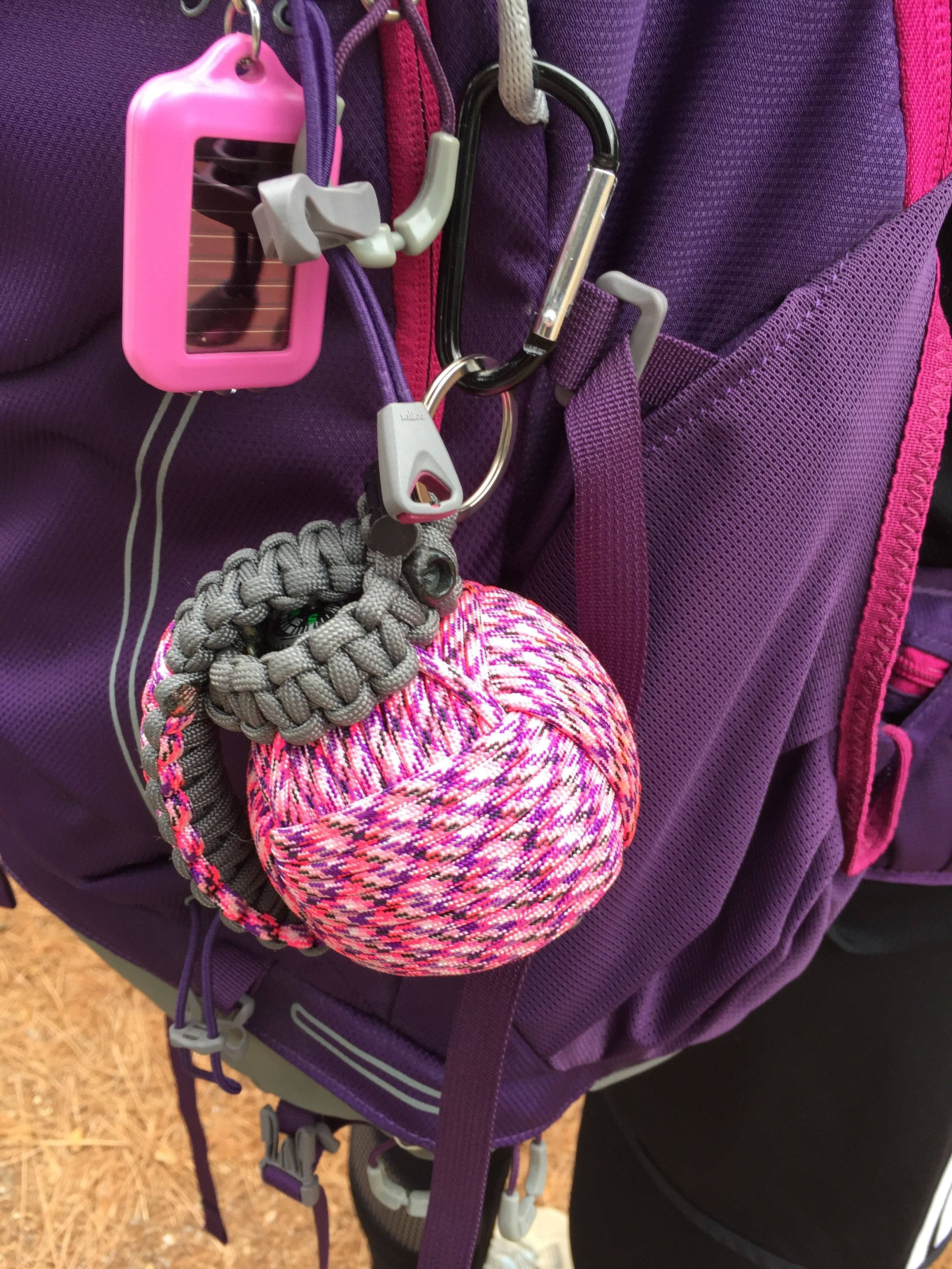 Bug Out Frag® Pro Paracord Survival Kit (Country Girl)