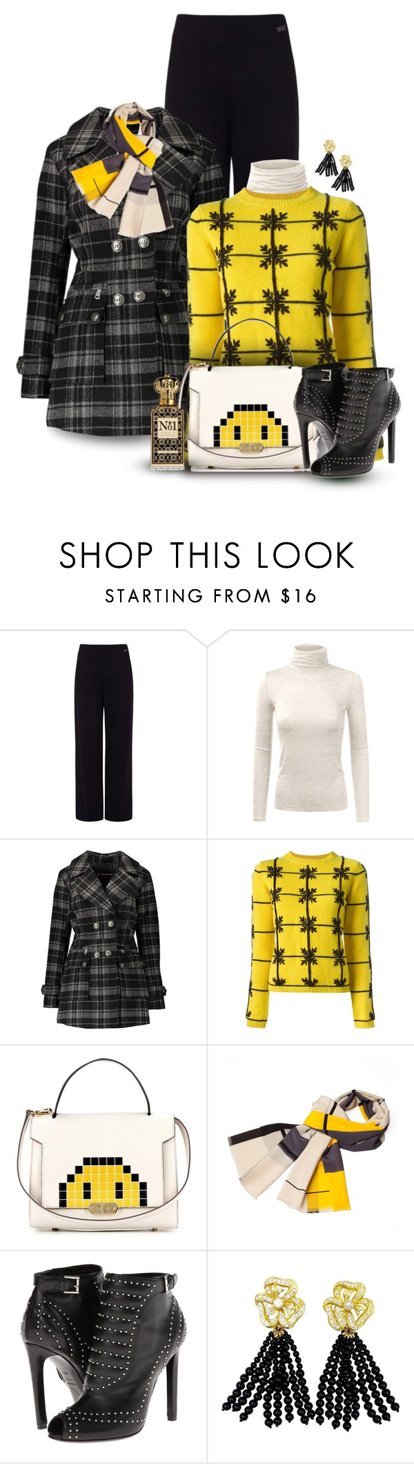 """""""Anya Hindmarch Pixel Smiley Bag"""" by franceseattle ❤ liked on Polyvore featuring Pink Tartan, Doublju, Urban Republic, P.A.R.O.S.H., Anya Hindmarch, Infinity, Alexander McQueen and Clive Christian"""