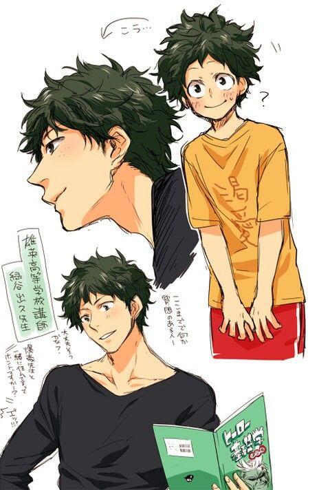 Grown Up Midoriya Is Just Too Hot Tbh My Hero Boku No Hero Academia Hero