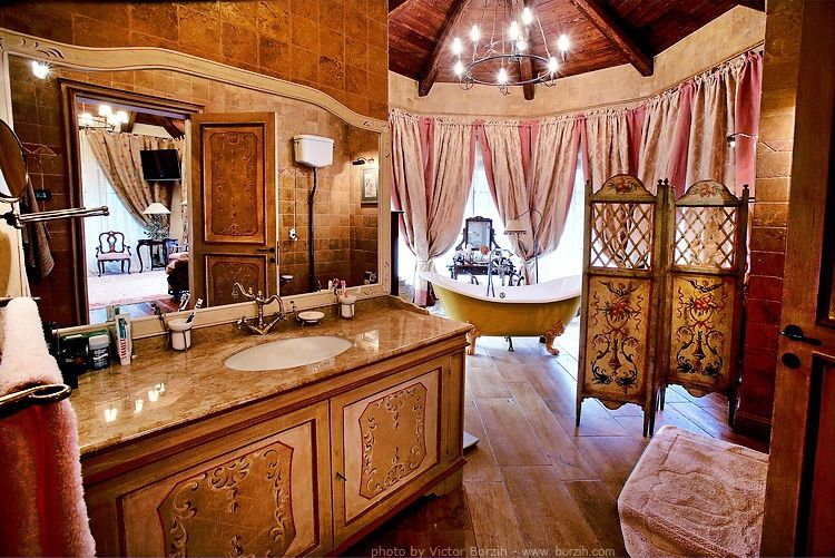 Luxurious bathroom in Ex Soviet Elite Home. Luxurious bathroom in Ex Soviet Elite Home    Lifestyles of the