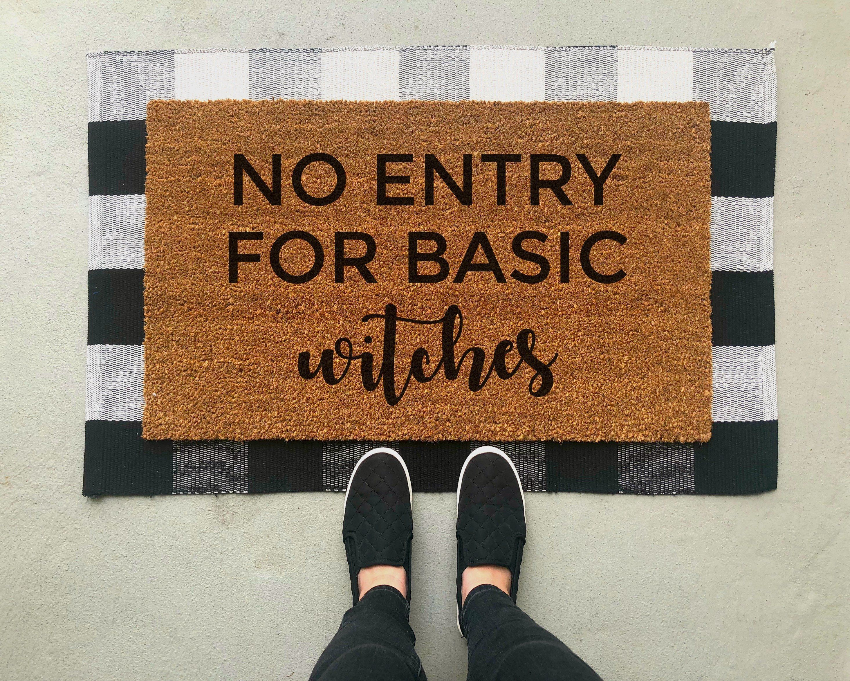 basic witches doormat in 2019 products christmas doormat, fallbasic witches doormat