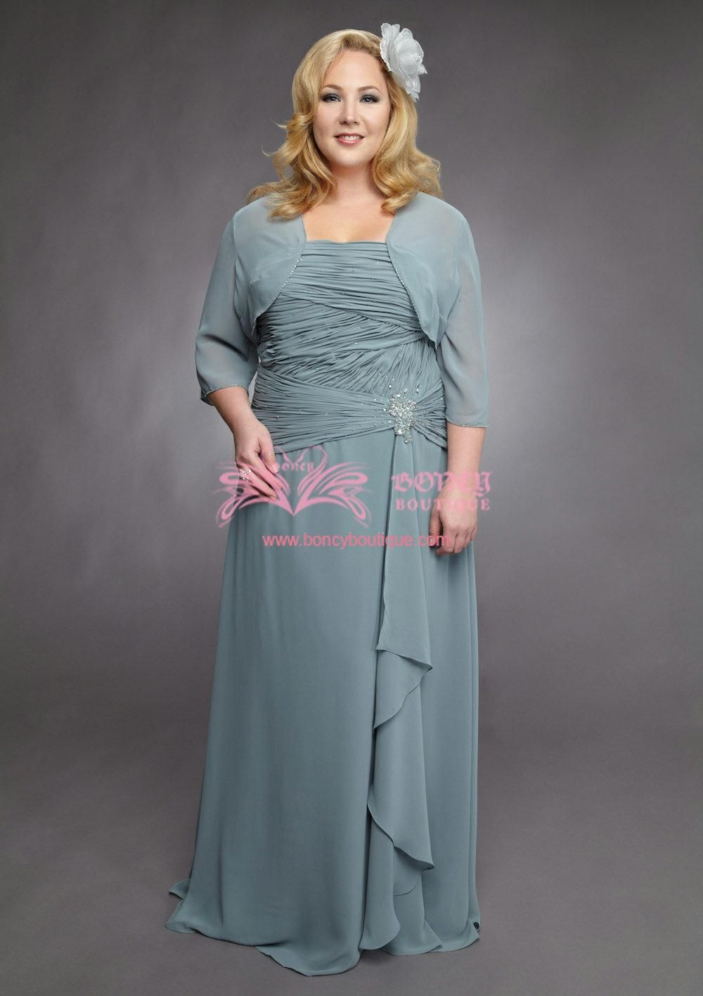 WDS050047 | Plus Size Mother of the Bride Dresses | The Big Day ...