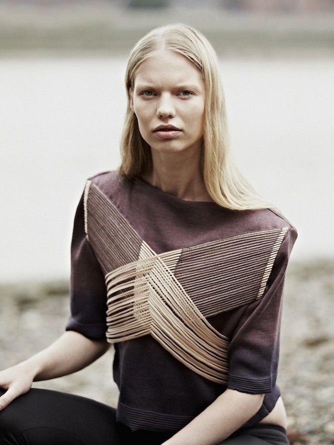 Marloes By Rory Van Millingen For The Graduation Collection Of Jessica Leclere | February2013