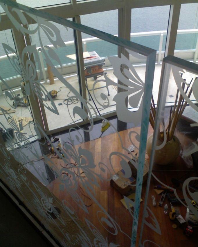 Glass Railing System Glass Balcony Glass Railing: Glass Handrail, Glass Railing System, Glass