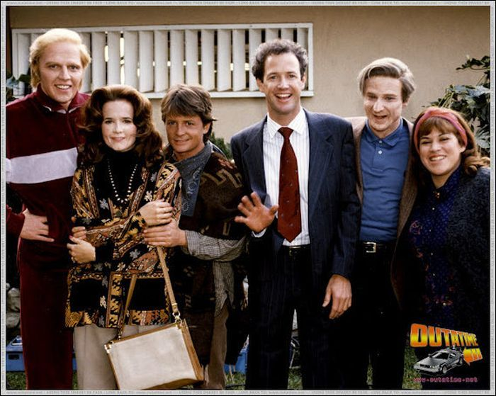 Back To The Future Behind The Scenes With Images The Future