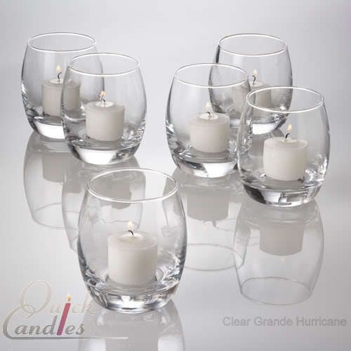 Lot of 48 Grande Hurricane Votive Candle Holders | eBay
