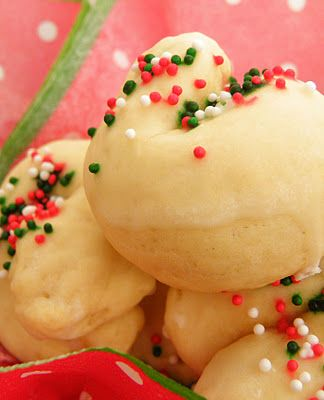 I Finally Found A Recipe For Kaludis Or Italian Knot Cookies As Some