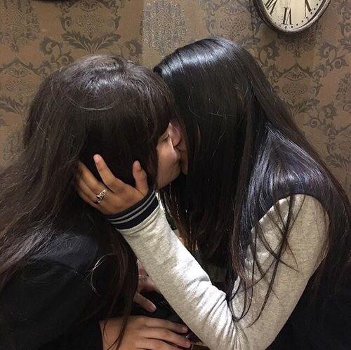 flicka på flicka lesbo
