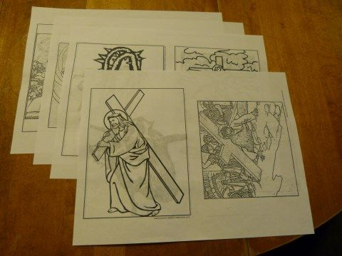 Download Lent Coloring Booklet. Lent Activities For Children To Use ...